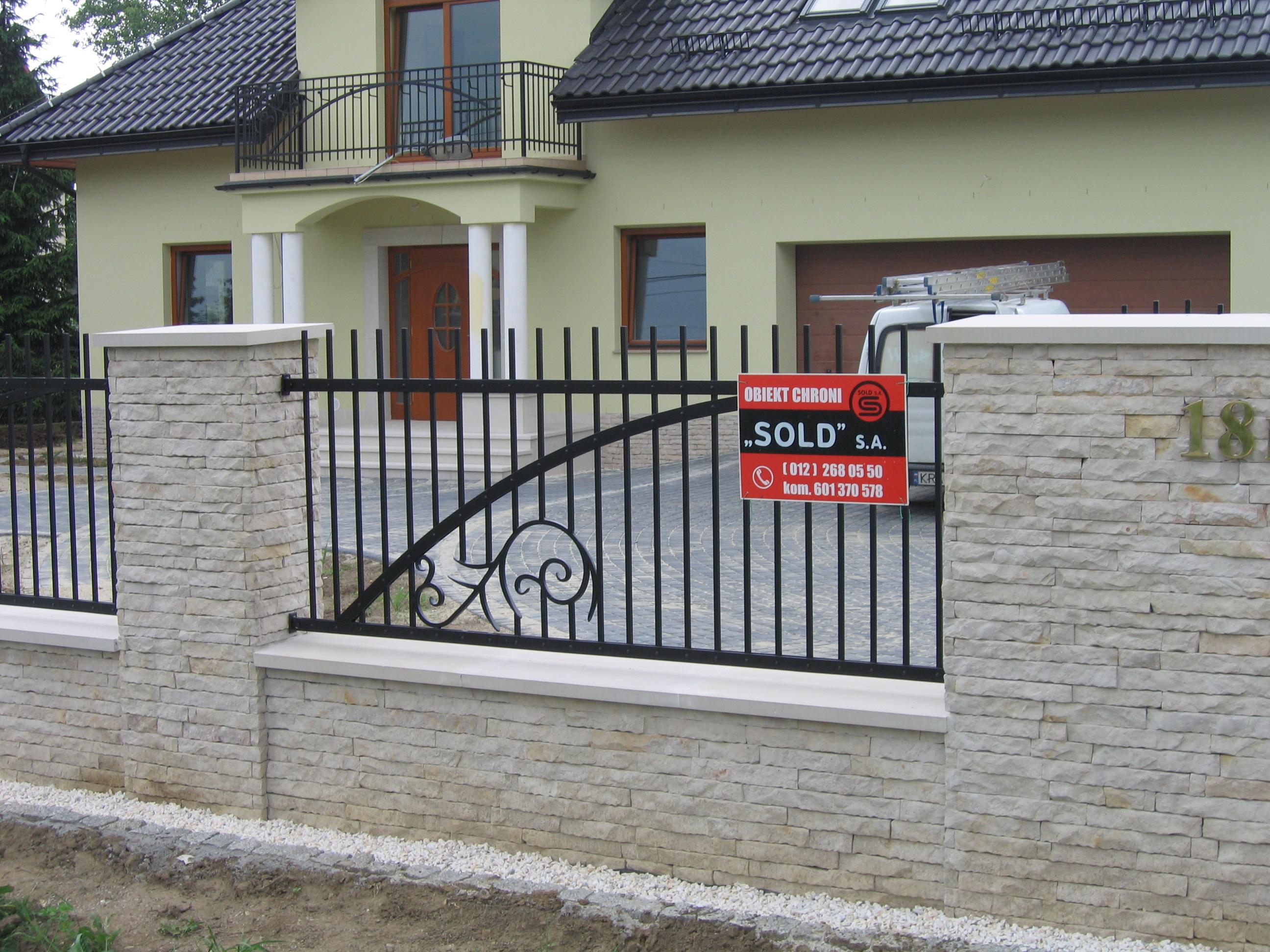 Kraków ogrodzenia